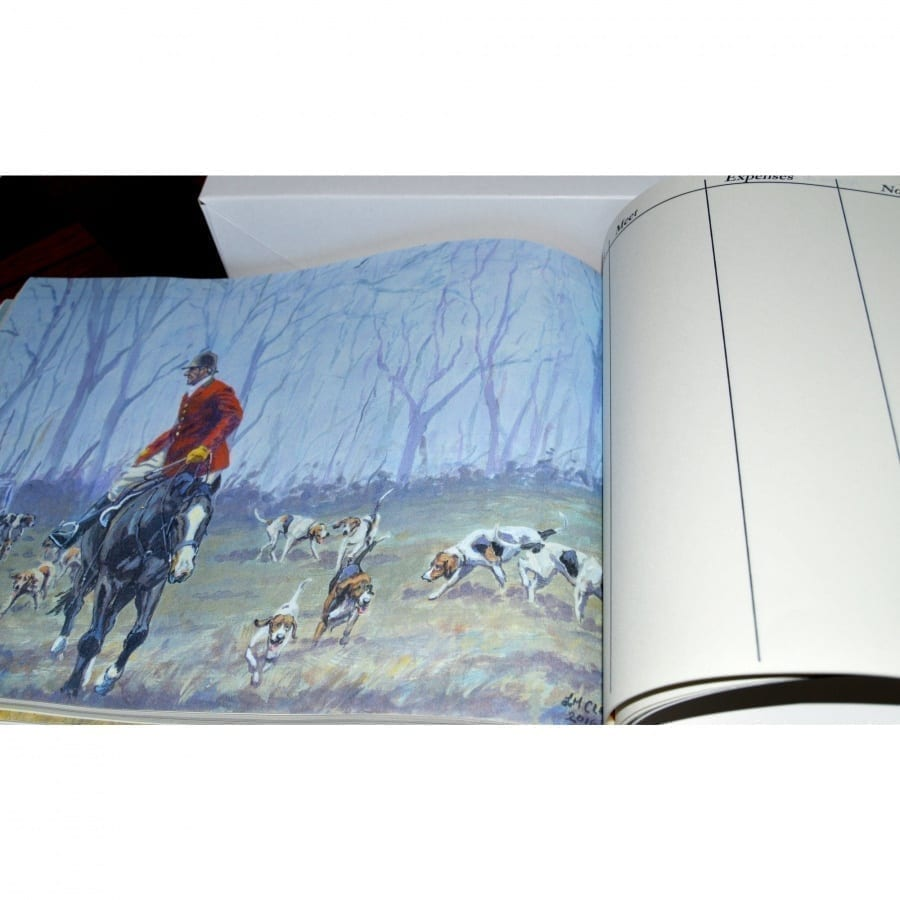 Baily's Hunt Report Book in Gift Box