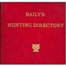 Bailys Hunting Directory 1988/1989