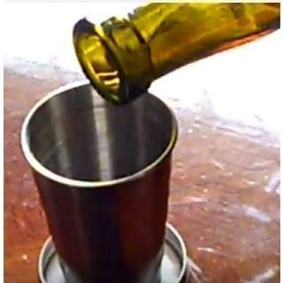 Collapsible Stainless Steel Stirrup Cup