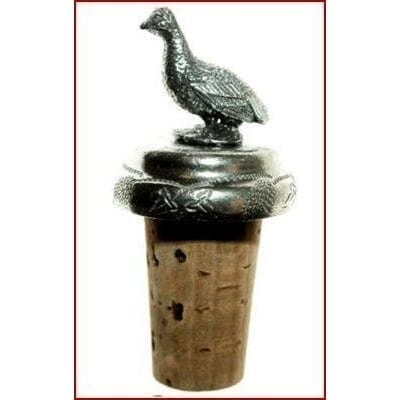 Wine Bottle Stopper -Grouse